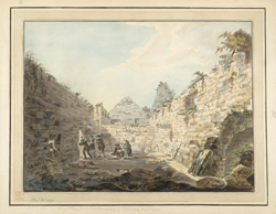 One of the Chapels in the monastery of Oransey Augt. 8. 1772